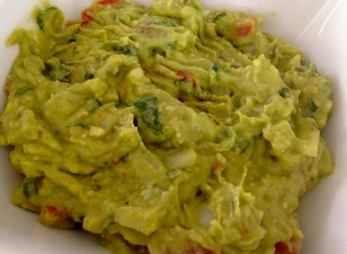 my truly amazing homemade guacamole :)