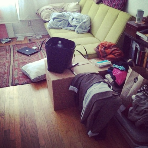 packing up 313 Strand St
