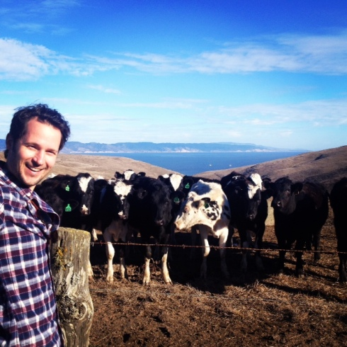 the time Brian herded a bunch of cows