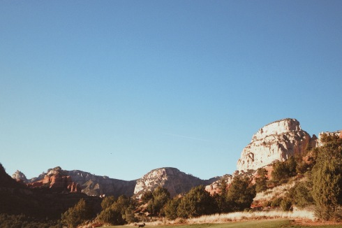 what Sedona looked like when we first arrived